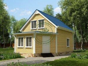 Дом на дачном участке Москва
