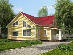 Брус дома под ключ недорого Московская область