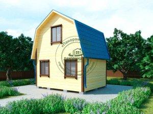 каркасно-шитовые дома